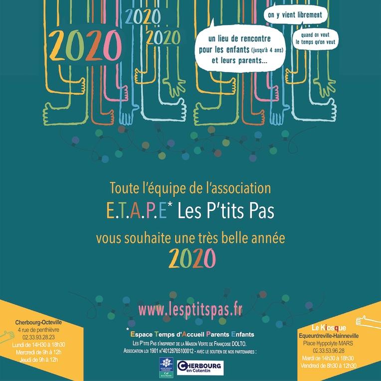 Dolto, Association Lieux d'accueil parents enfants Voeux 2019, Cherbourg-en-cotentin